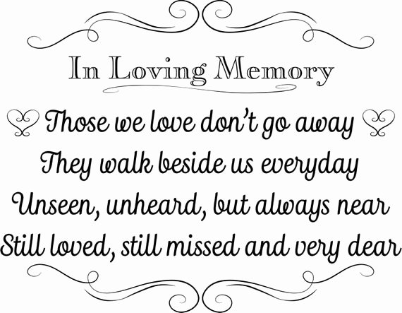 In Loving Memory Card Template Unique Printable Wedding Sign In Loving Memory Instant Download 3