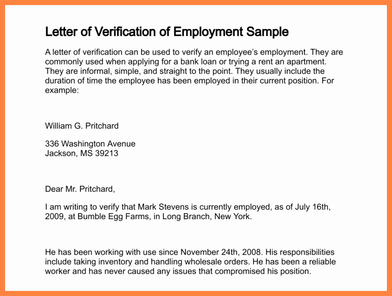 Income Verification Letter for Apartment Inspirational 9 Employment Salary Verification Letter