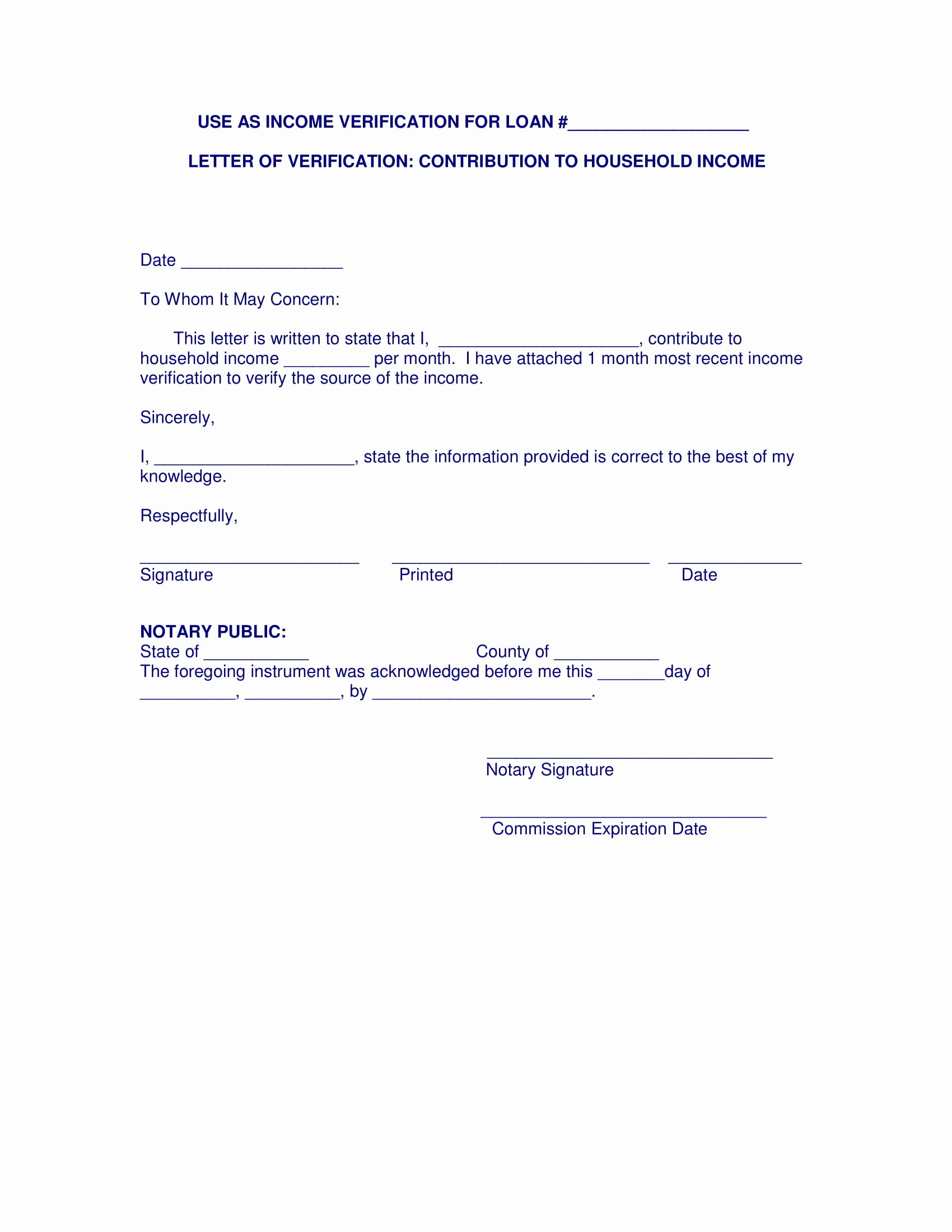 Income Verification Letter for Apartment Luxury 9 In E Verification Letter Pdf Doc