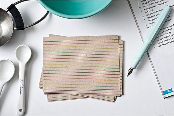 Index Cards Template for Word Elegant 9 Index Card Templates Jpg Vector Eps Illustrator