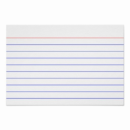 Index Cards Template for Word Lovely 3 X 5 Notecard Template