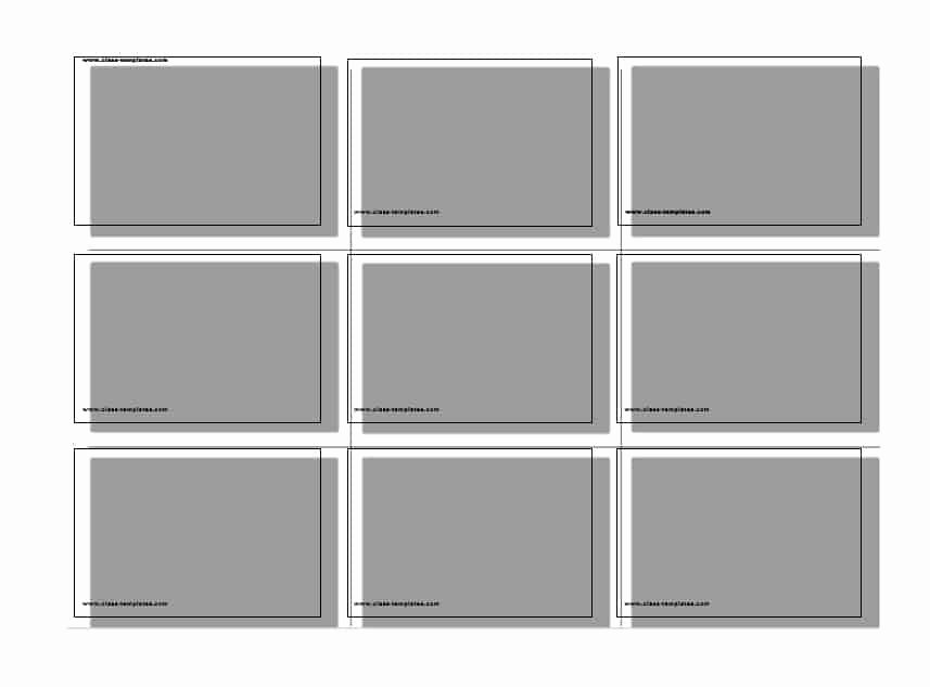 Index Cards Template for Word Lovely 30 Simple Index Flash Card Templates [free] Template