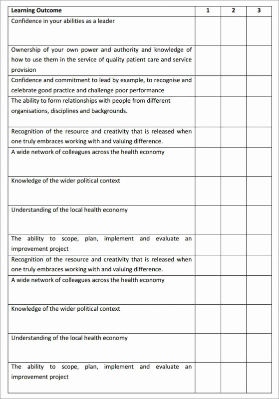 Individual Development Plan Sample Elegant Leadership Development Plan