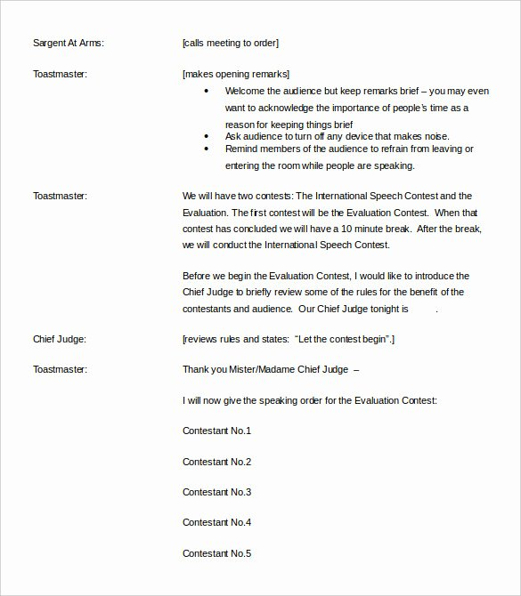 Individual Speech Evaluation form Awesome toastmaster Evaluation Template – 20 Free Word Pdf