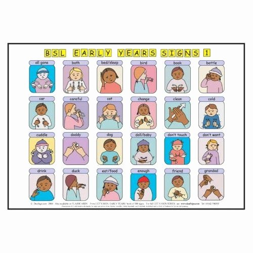 Infant Sign Language Chart Fresh 25 Best Ideas About Baby Sign Language Chart On Pinterest