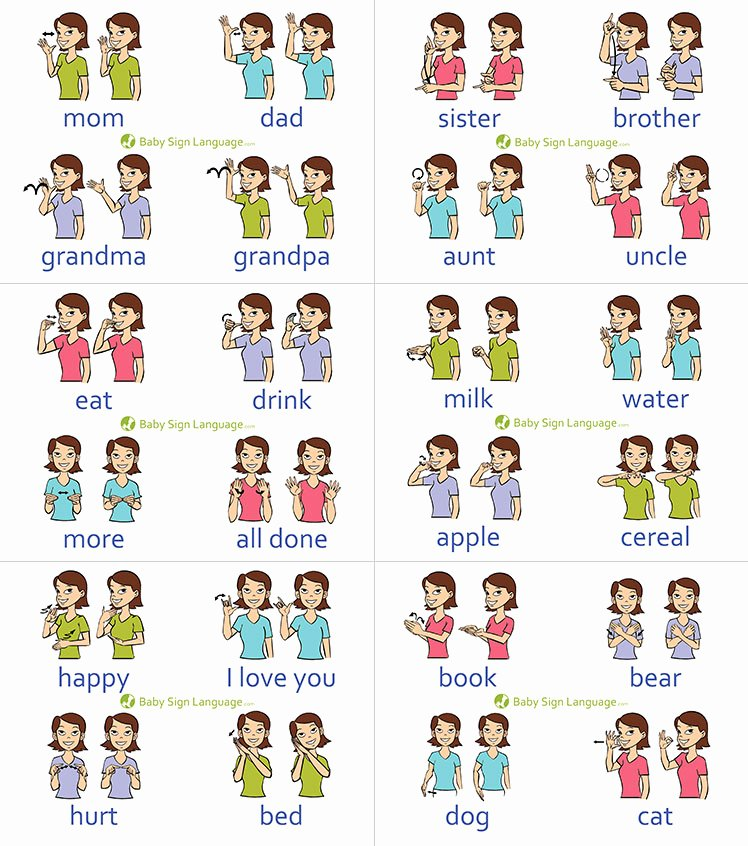 Infant Sign Language Chart Luxury the Mom Informed Baby Sign Nks and Resources
