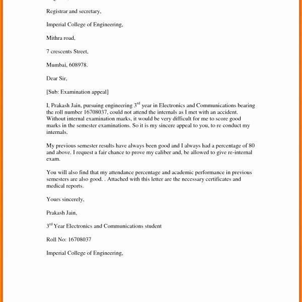 Insurance Appeal Letter Samples New Sample Insurance Appeal Letter for No Authorization 2018