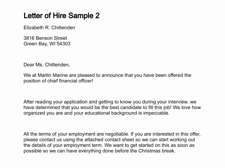 Intent to Hire Letter Awesome Best S Of Staffing Justification Examples Salary