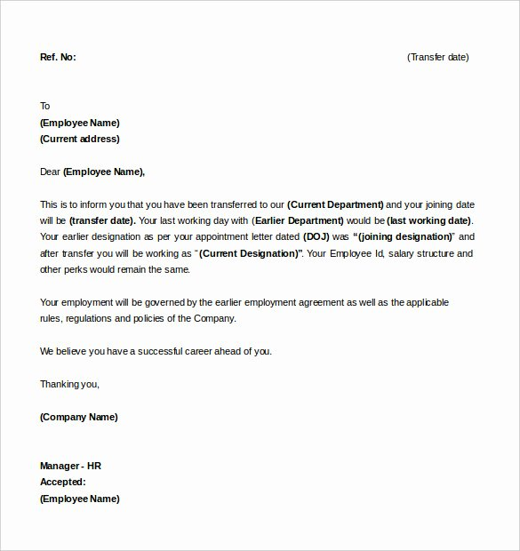 Intent to Hire Letter Fresh Letter Intent for Job