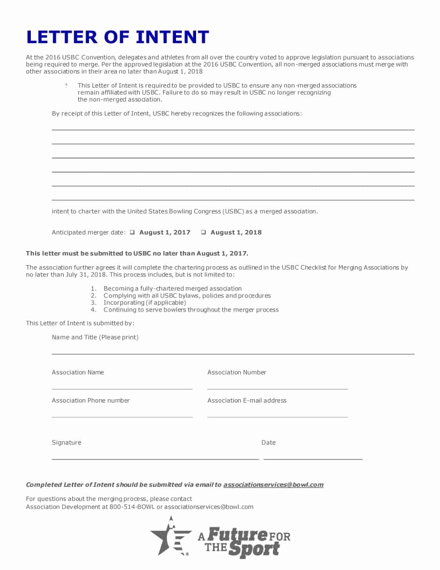 Intent to Hire Letter Luxury 40 Letter Of Intent Templates & Samples [for Job School