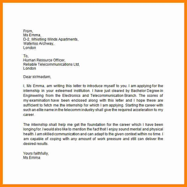 Introductory Letter for Employee Inspirational 8 Sample Introduction Letter for New Employee