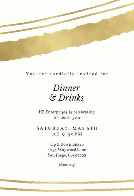 Invitation Message for Dinner Best Of Dinner Party Invitation Templates Free