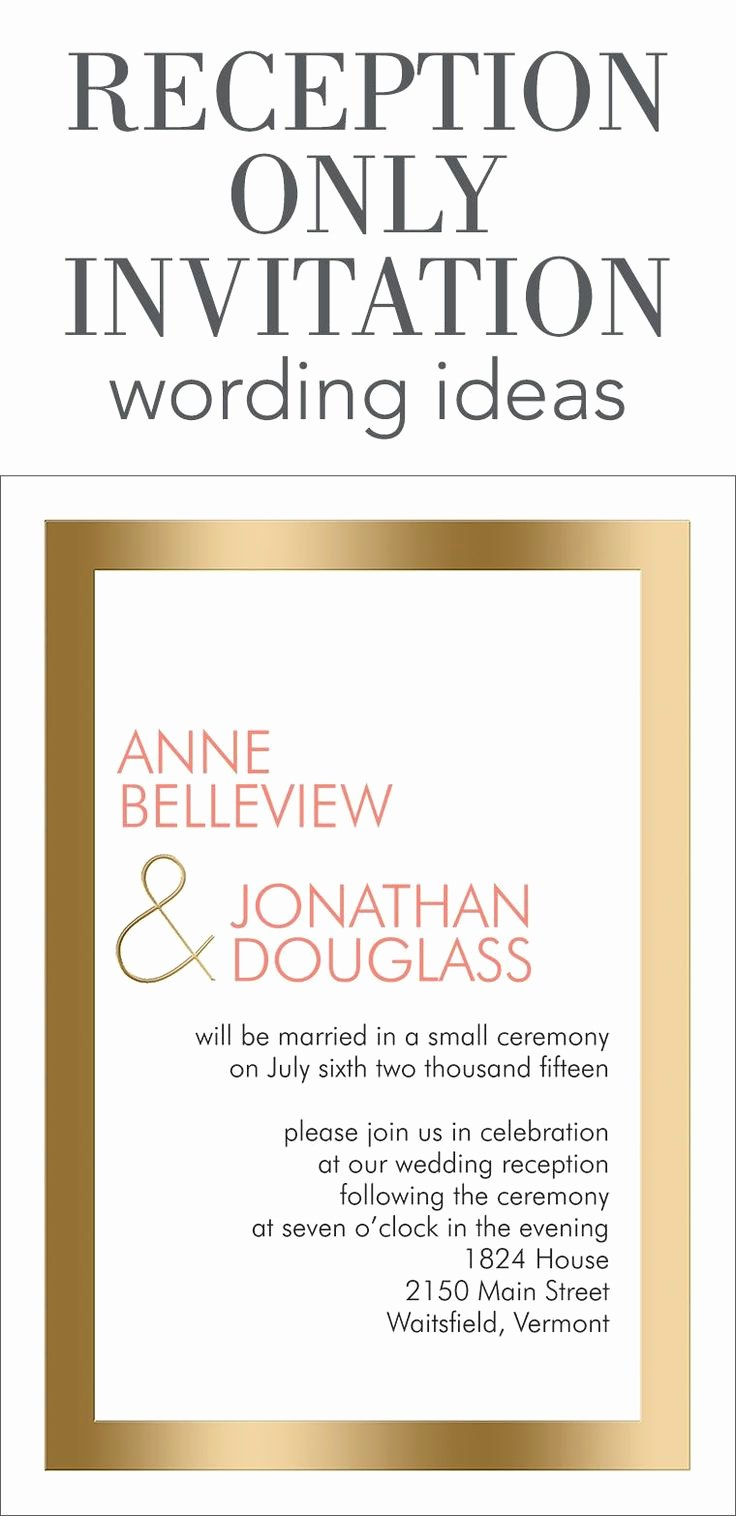 Invitation Message for Dinner Inspirational Reception Ly Invitation Wording