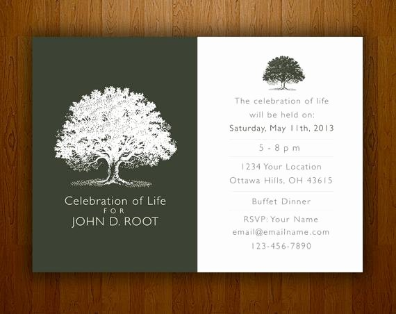 Invitations to A Funeral Beautiful Mourning Card for Memorial Funeral Announcements or Invites