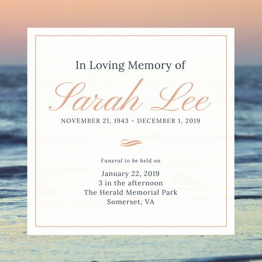 Invitations to A Funeral Best Of Customize 40 Funeral Invitation Templates Online Canva