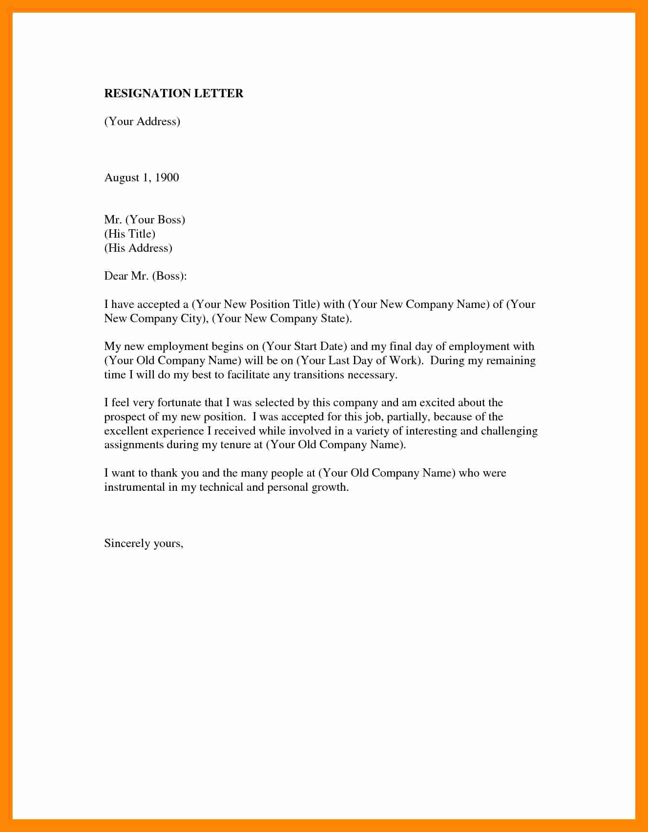 Involuntary Resignation Letter Sample Best Of 4 5 forced Resignation Letter