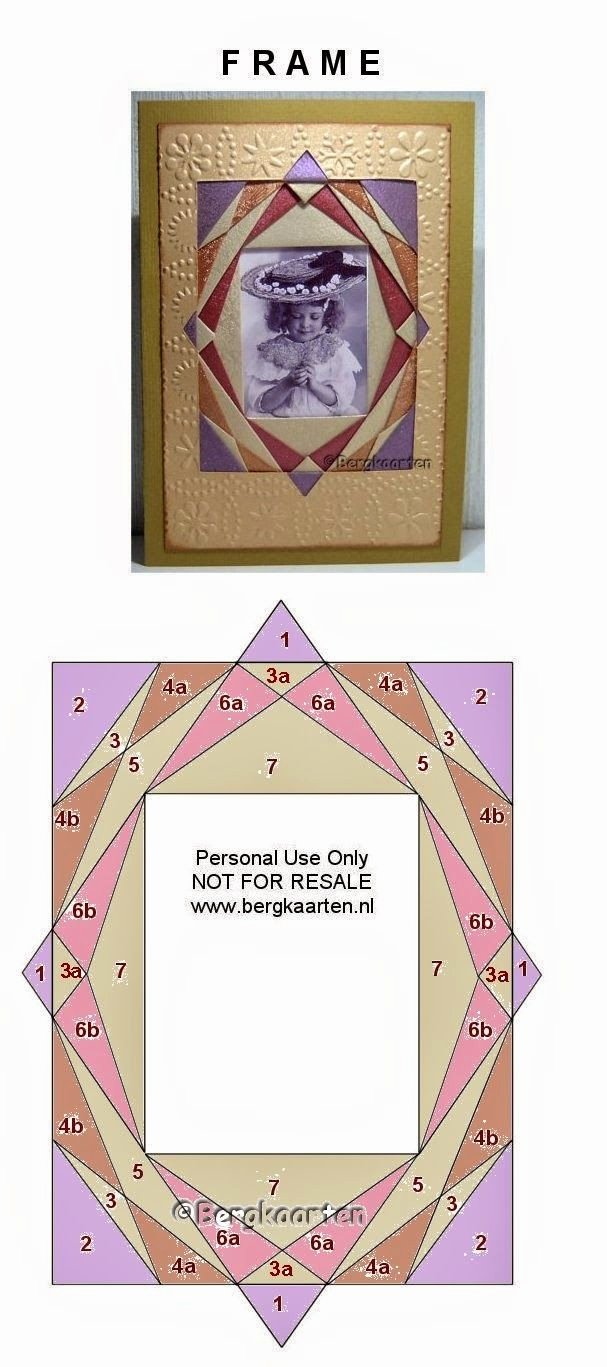 Iris Paper Folding Patterns Awesome Iris Folding Frame Iris Folding