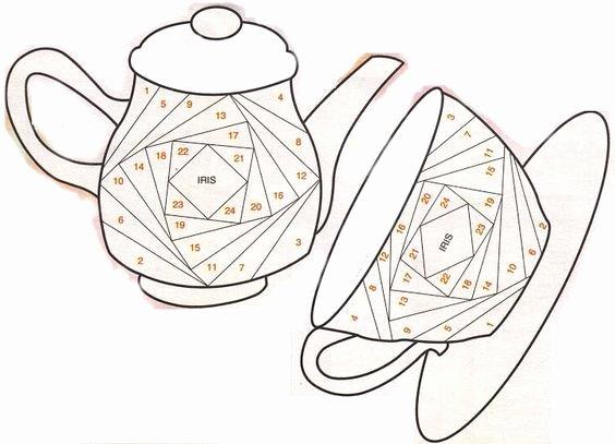 Iris Paper Folding Patterns Beautiful Best 25 Iris Folding Templates Ideas On Pinterest