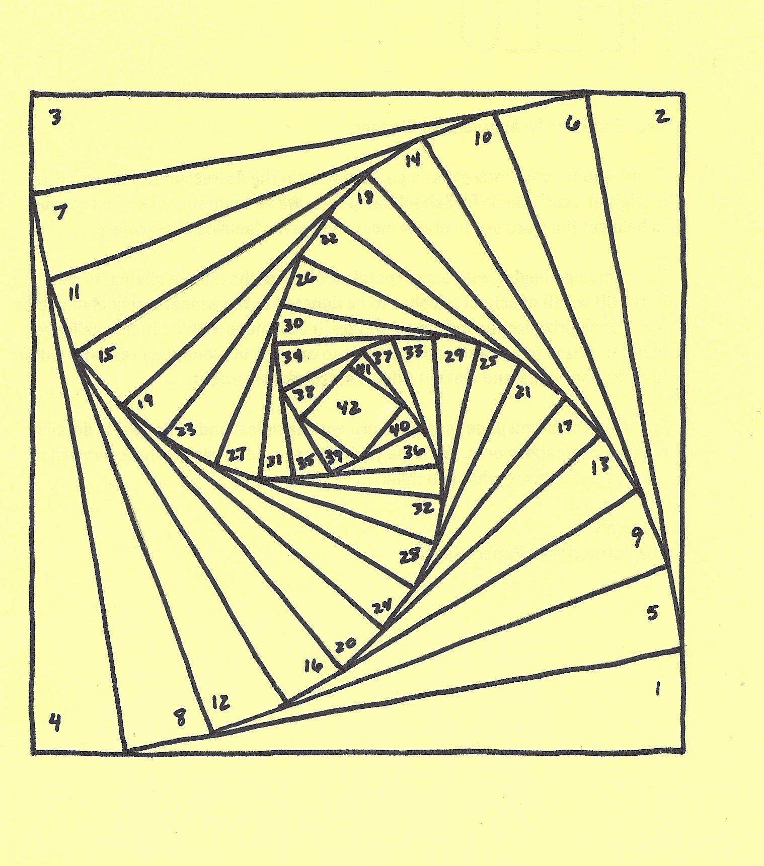 Iris Paper Folding Patterns Inspirational Iris Folding Pattern