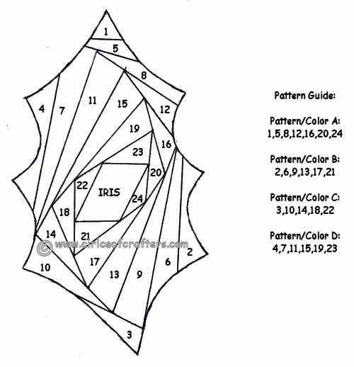 Iris Paper Folding Patterns New 243 Best Images About Iris Folding Papercraft On Pinterest