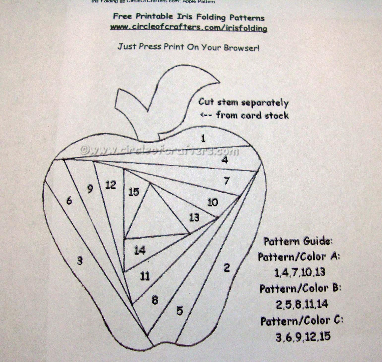 Iris Paper Folding Patterns New I Wanna Build A Memory Iris Fold Apple