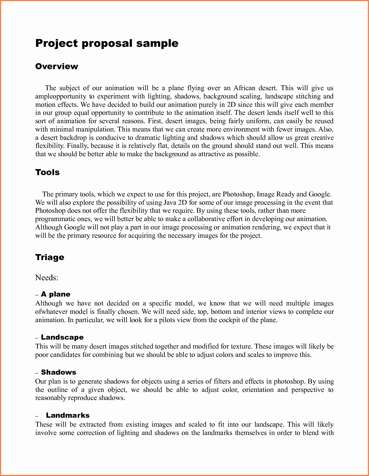 It Project Proposal Sample Best Of 9 Template for Writing A Proposal for A Project
