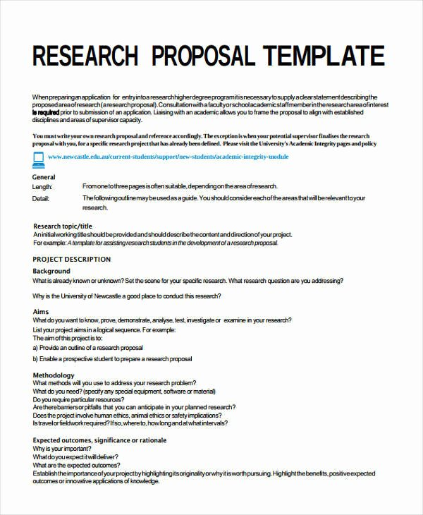 It Project Proposal Sample Elegant 13 Project Proposal Templates Word Pdf
