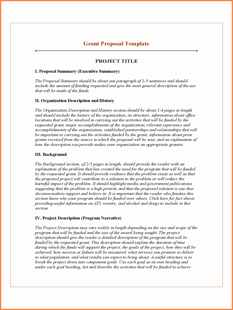 It Project Proposal Sample Inspirational 4 Sample Project Proposal Pdf