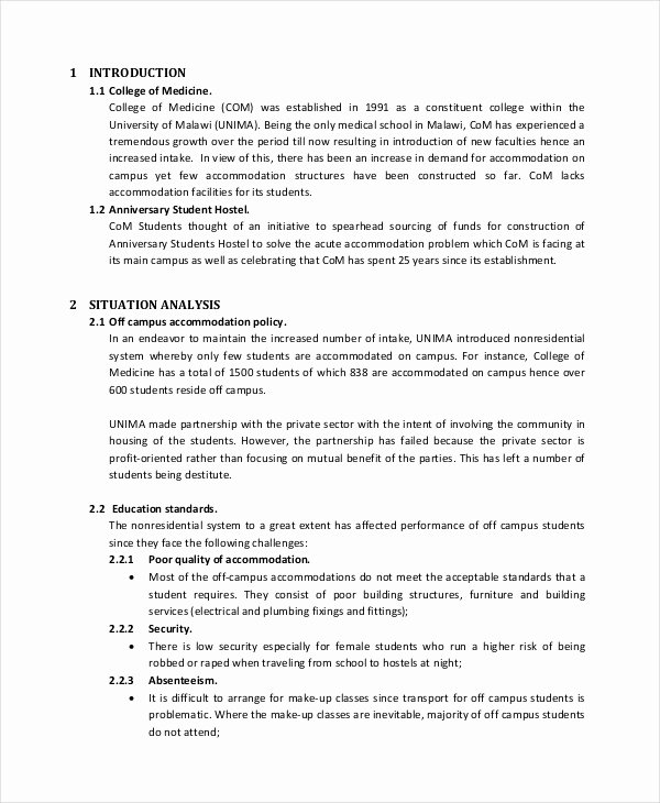 It Project Proposal Sample Unique 44 Project Proposal Examples Pdf Word Pages