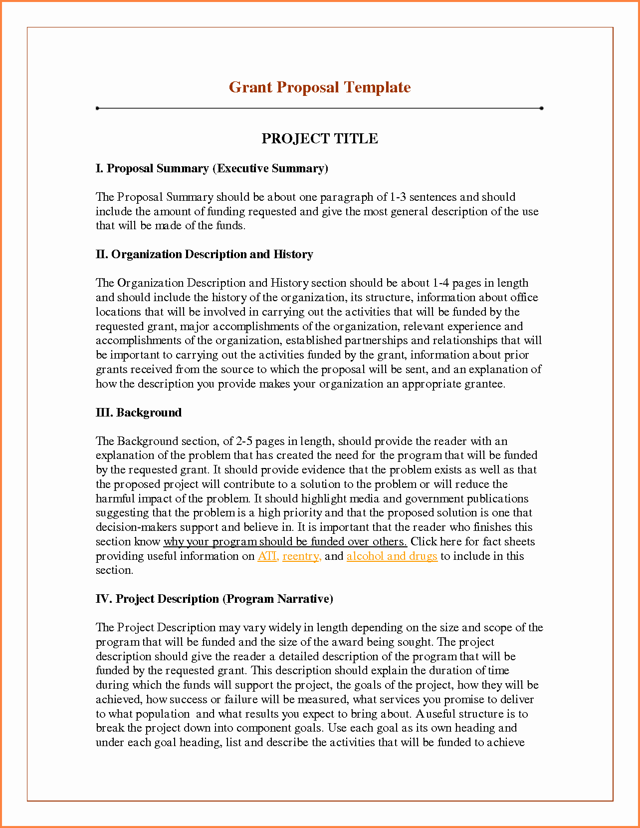 It Project Proposal Sample Unique 6 Sample Of Funding Proposal Project
