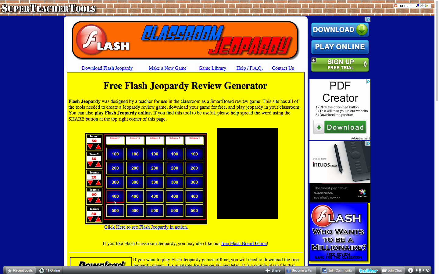 Jeopardy Game for Classrooms Best Of Teacherlink Blog Teachertools Free Flash Jeopardy