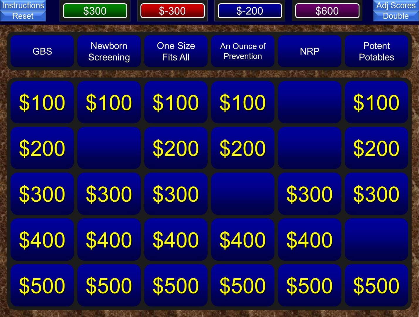 Jeopardy Game for Classrooms Fresh A Free Powerpoint Jeopardy Template for the Classroom