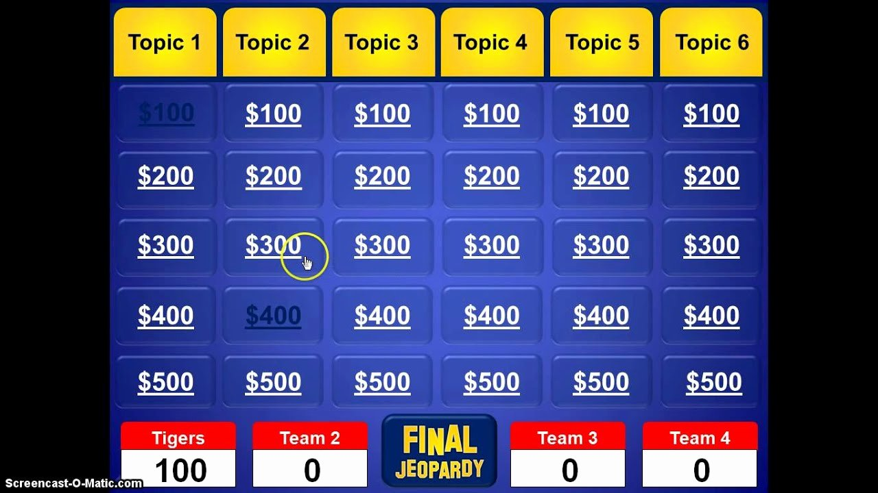 Jeopardy Game for Classrooms Fresh Jeopardy Powerpoint Template