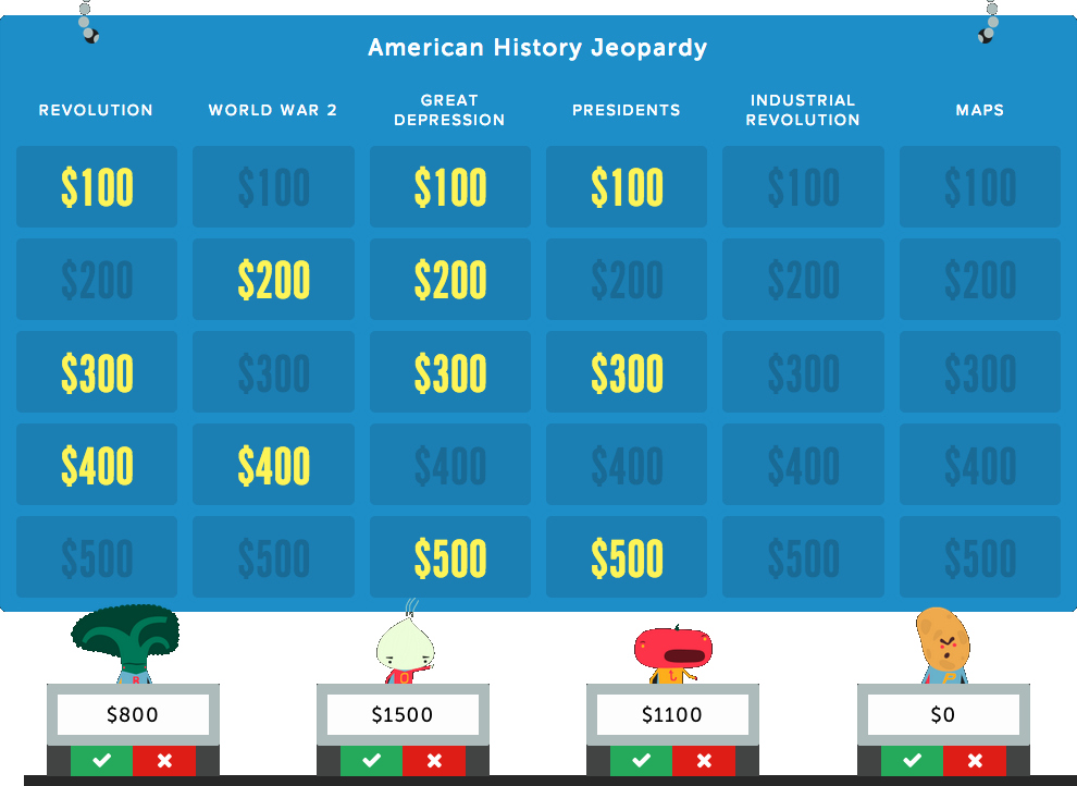 Jeopardy Game for Classrooms New Factile 1 Jeopardy Classroom Review Game