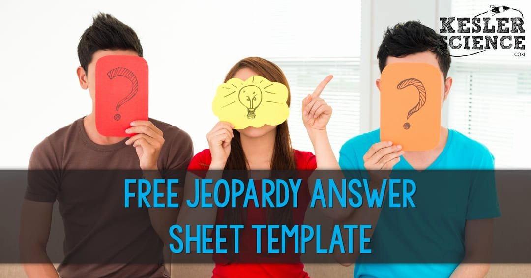 Jeopardy Template with Scorekeeper Awesome Jeopardy Answer Sheet Template Free