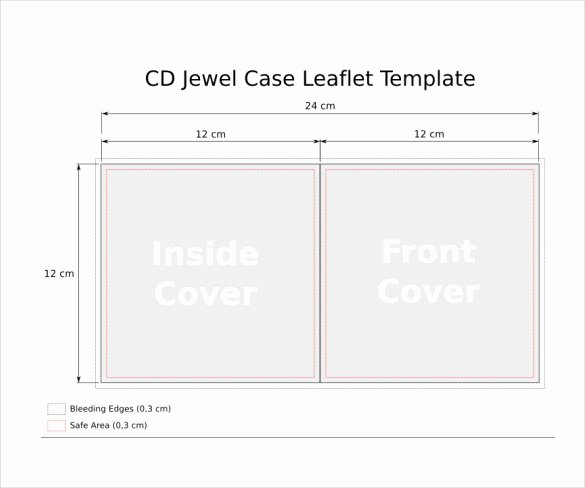 Jewel Case Insert Templates Beautiful Jewel Case Templates 11 Free Word Pdf Psd Eps