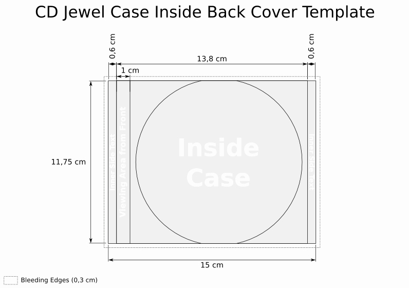 Jewel Case Insert Templates Luxury Vicky Cooper Cd Cover Template