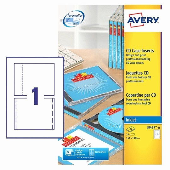 Jewel Case Inserts Template New Cd Case Inserts J8435 25