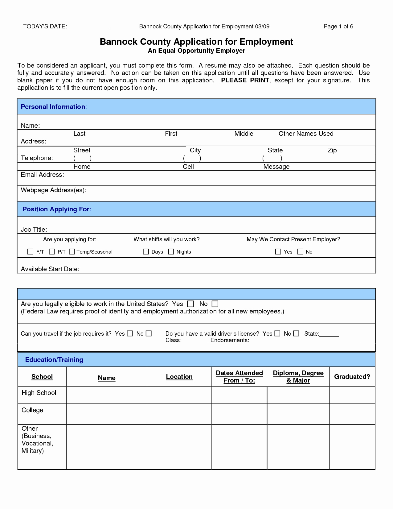 Job Application form Sample Best Of 11 Types Sample Job Application Samplebusinessresume