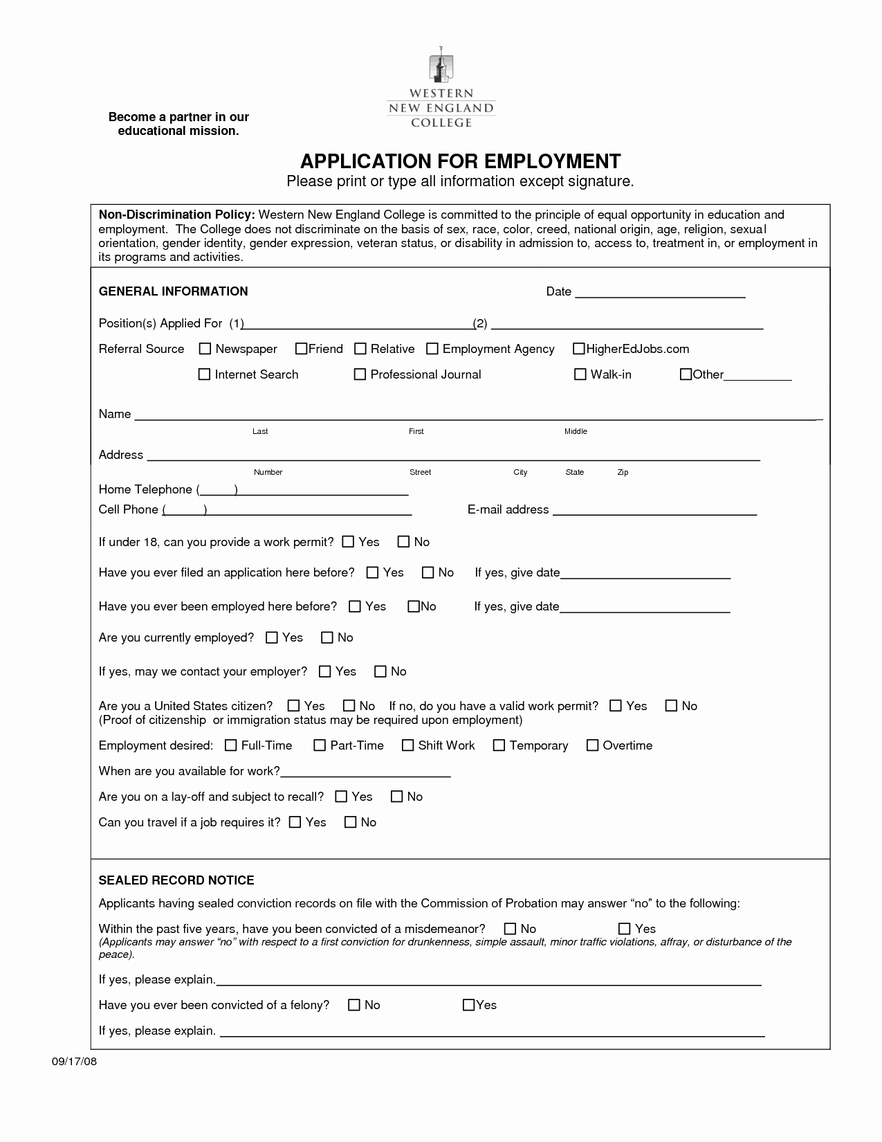Job Application form Sample Best Of Best S Of Sample Employment Application Sample Job