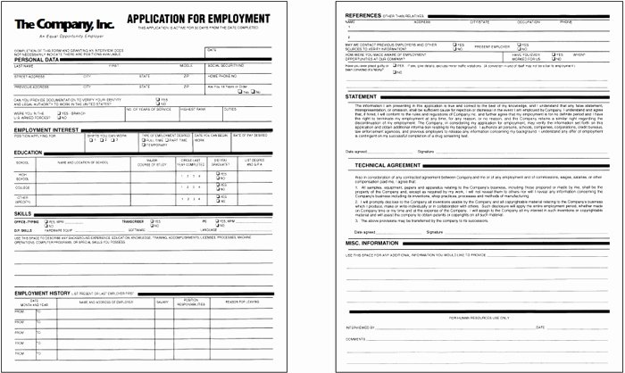 Job Application form Sample format Best Of How to Prepare for It Puter Support Job Applications