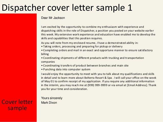 Job Description for Dispatcher Elegant Ems Dispatcher Resume Examples