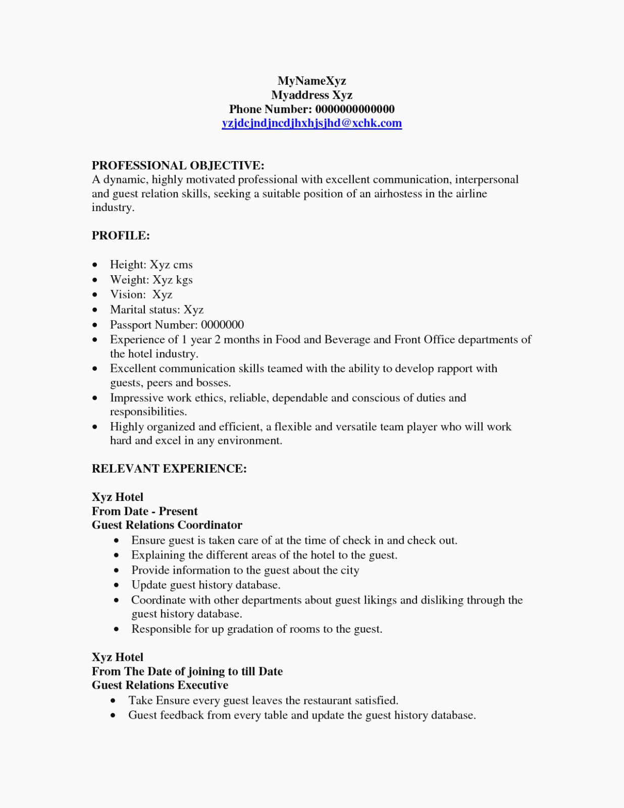 Job Description for Hostess Beautiful the 15 Reasons tourists