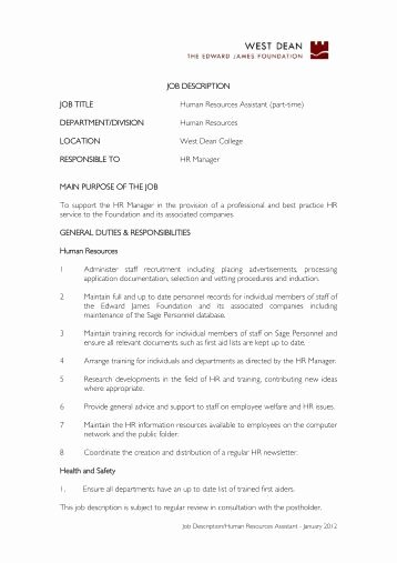 Job Description Human Resources Beautiful Human Resources Business Partner Job Description