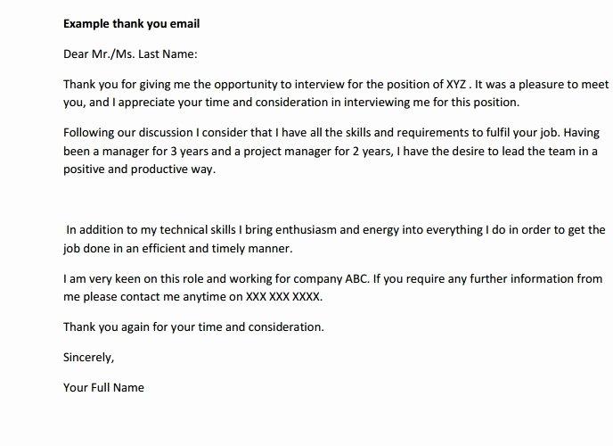 Job Interview Follow Up Letter Fresh 1 after Interview Follow Up Letter Templates Pdf