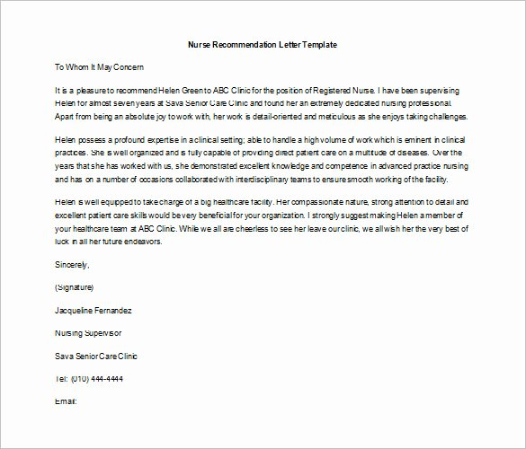 Job Recommendation Letter Sample Inspirational 10 Job Re Mendation Letter Templates Doc