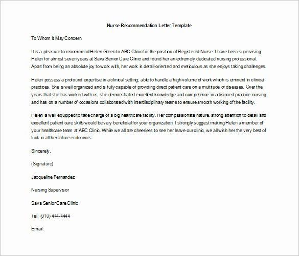Job Recommendation Letter Sample Inspirational 10 Job Re Mendation Letter Templates Doc