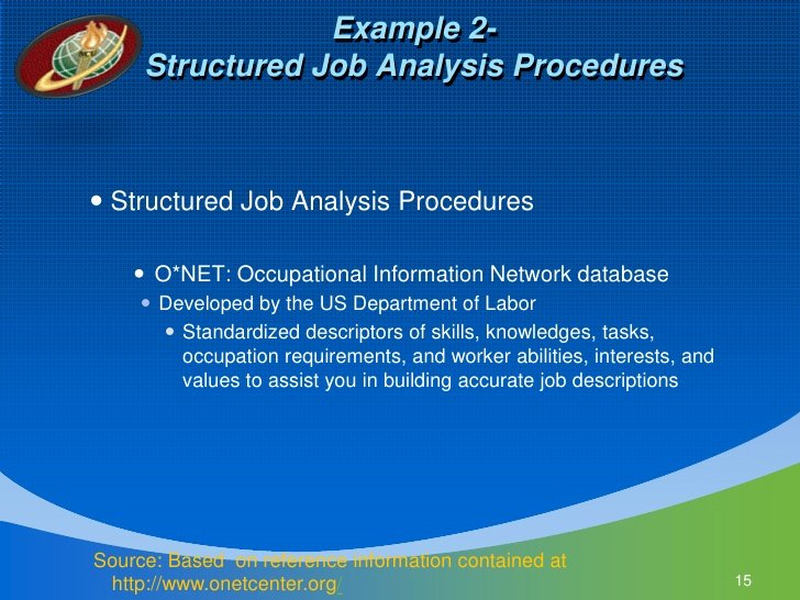 Job Task Analysis Examples Lovely Job & Task Analysis