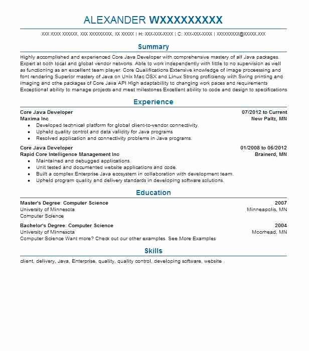 Junior Java Developer Resume Luxury Junior Java Developer Resume Template Resume Definition