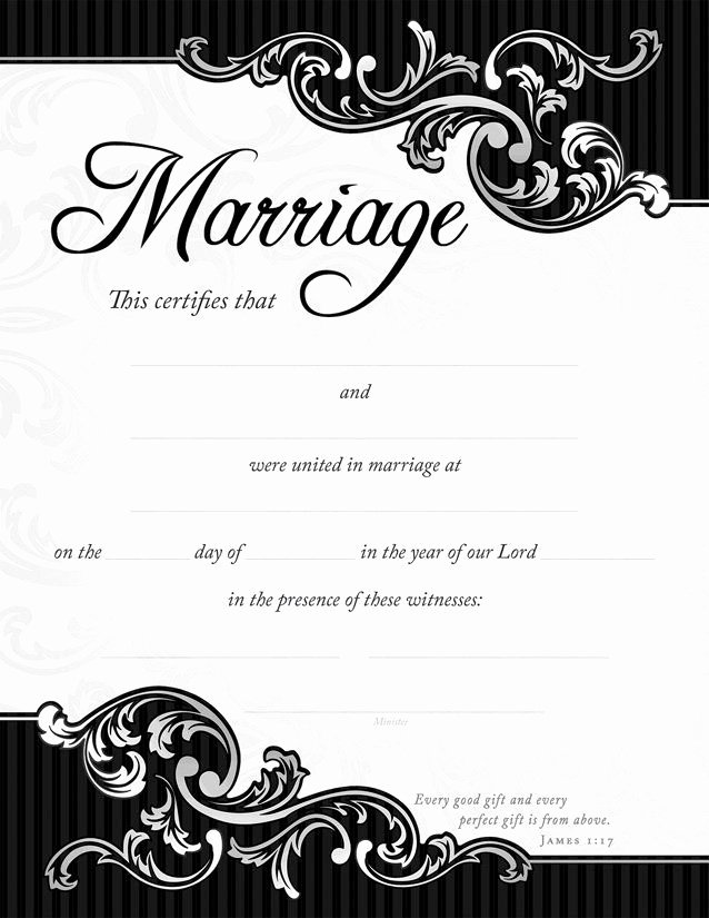 Keepsake Marriage Certificate Template New Best 25 Wedding Certificate Ideas On Pinterest